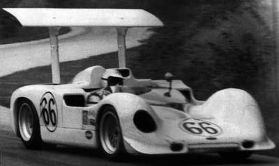 Jim Hall in a Chaparral
