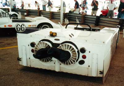 Chaparral Sucker Car, rear view